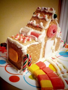 gingerbread house sideview