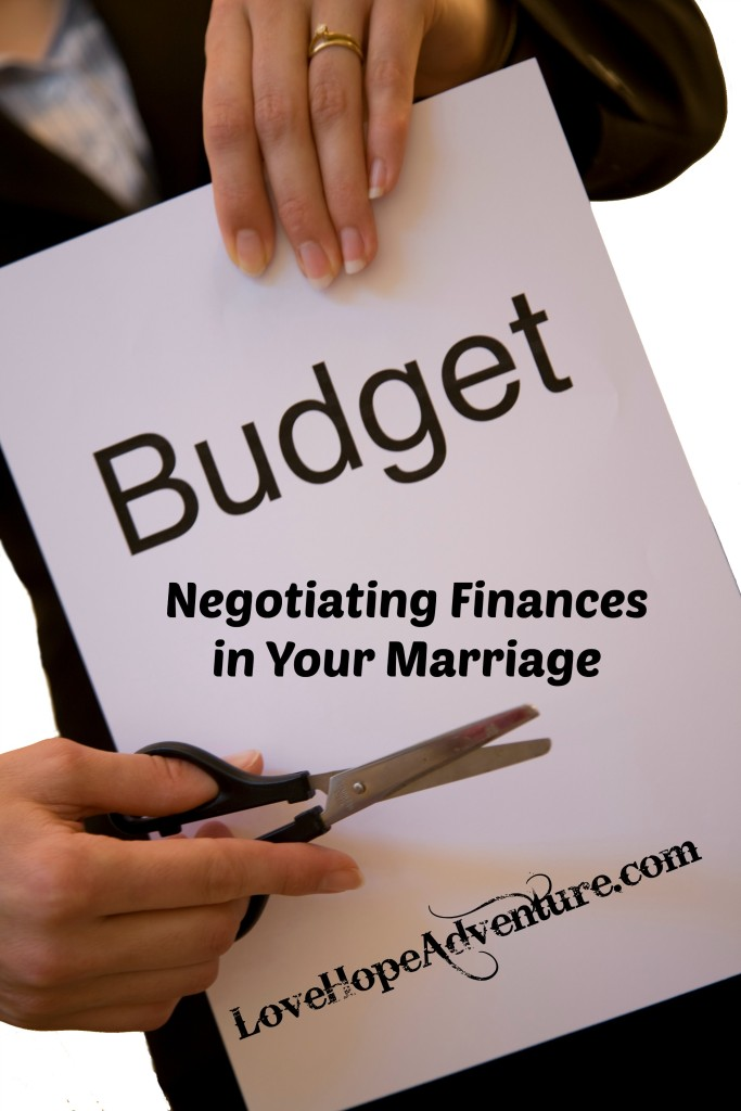 negotiating finances in your marriage
