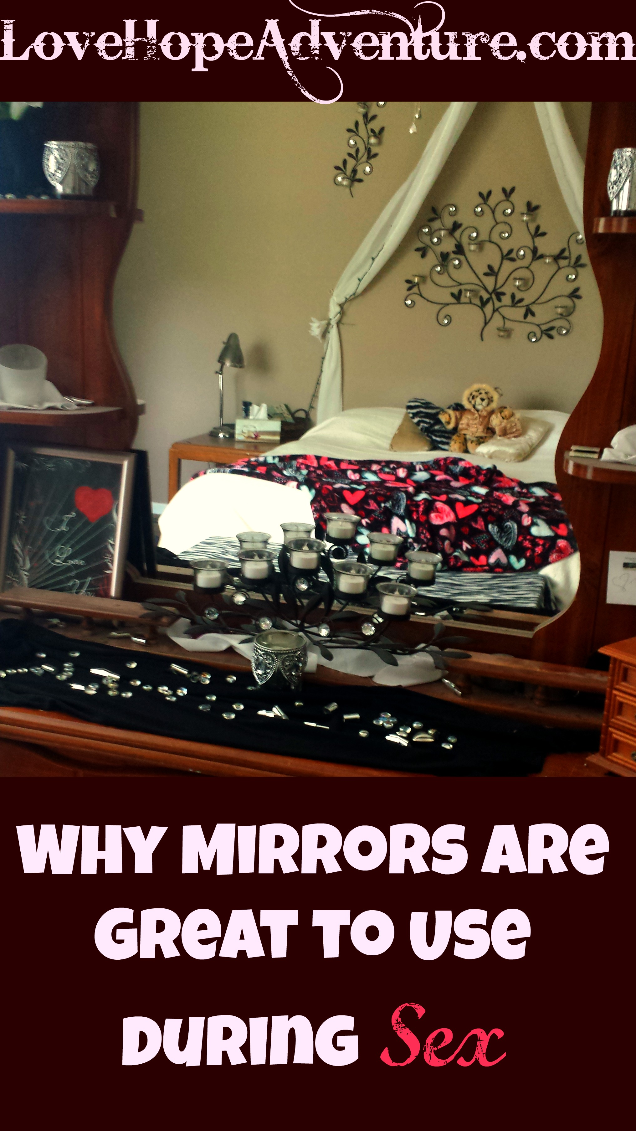 why mirrors are great to use during physical intimacy