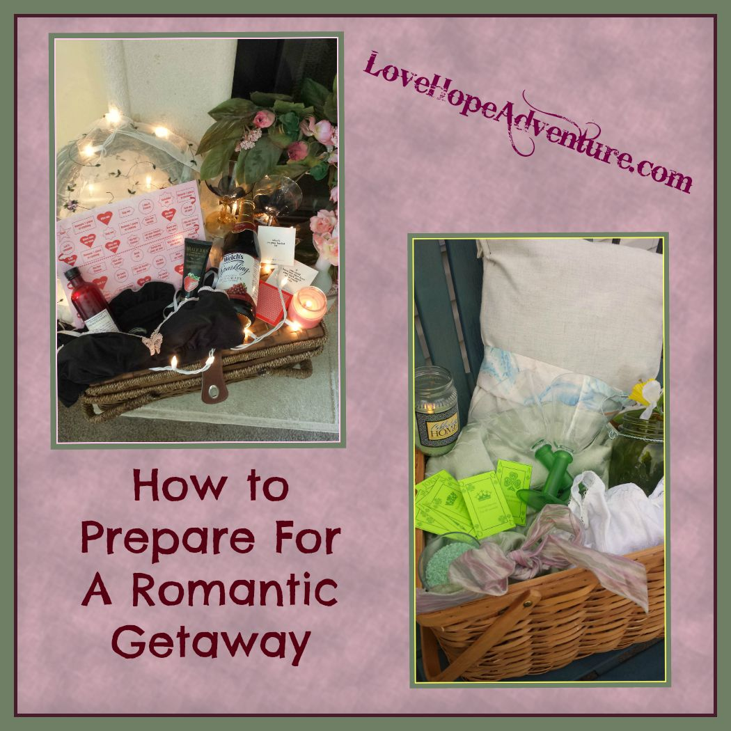 how to prepare for a romantic weekend