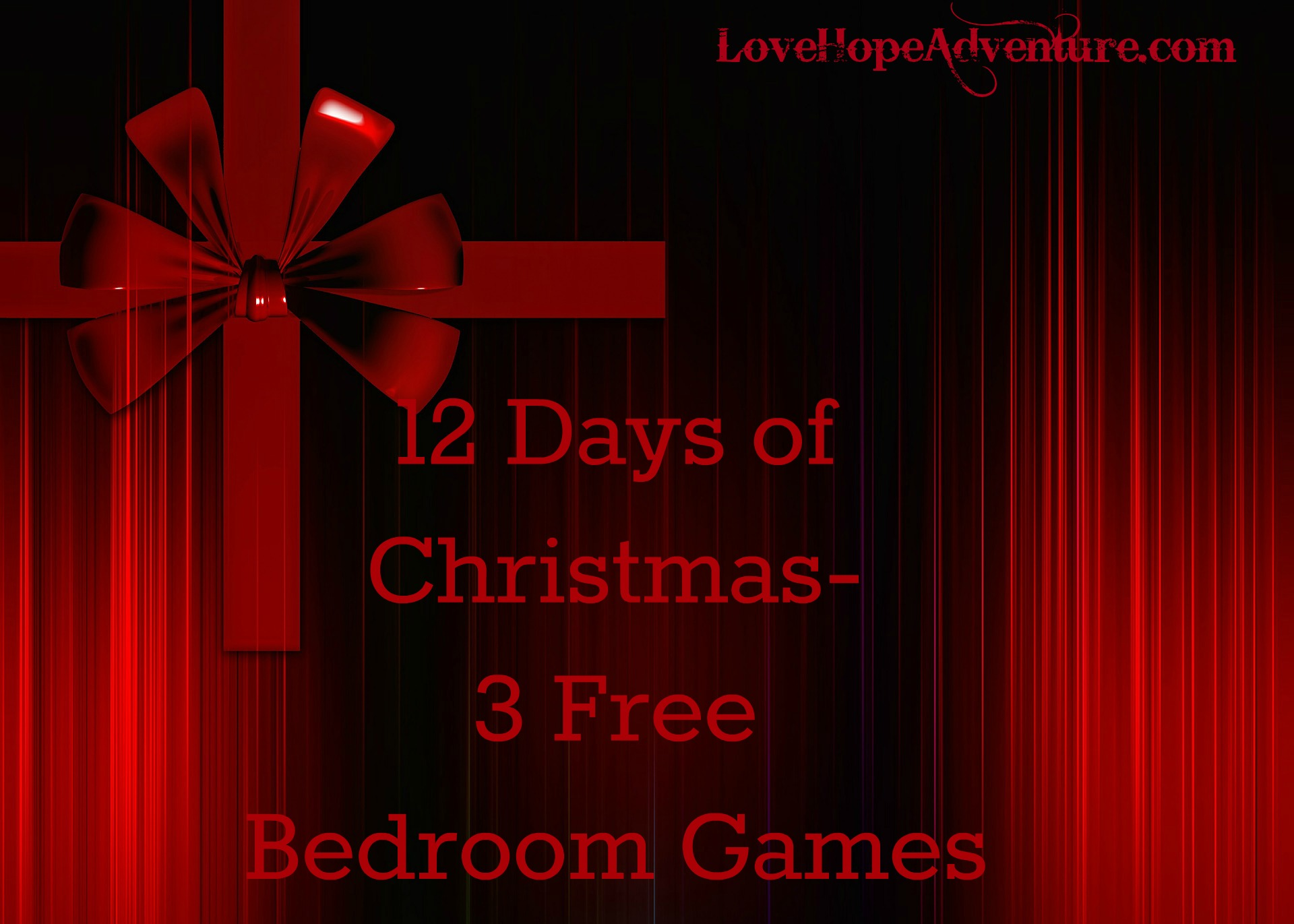 12 Days of Christmas 3 Bedroom Games