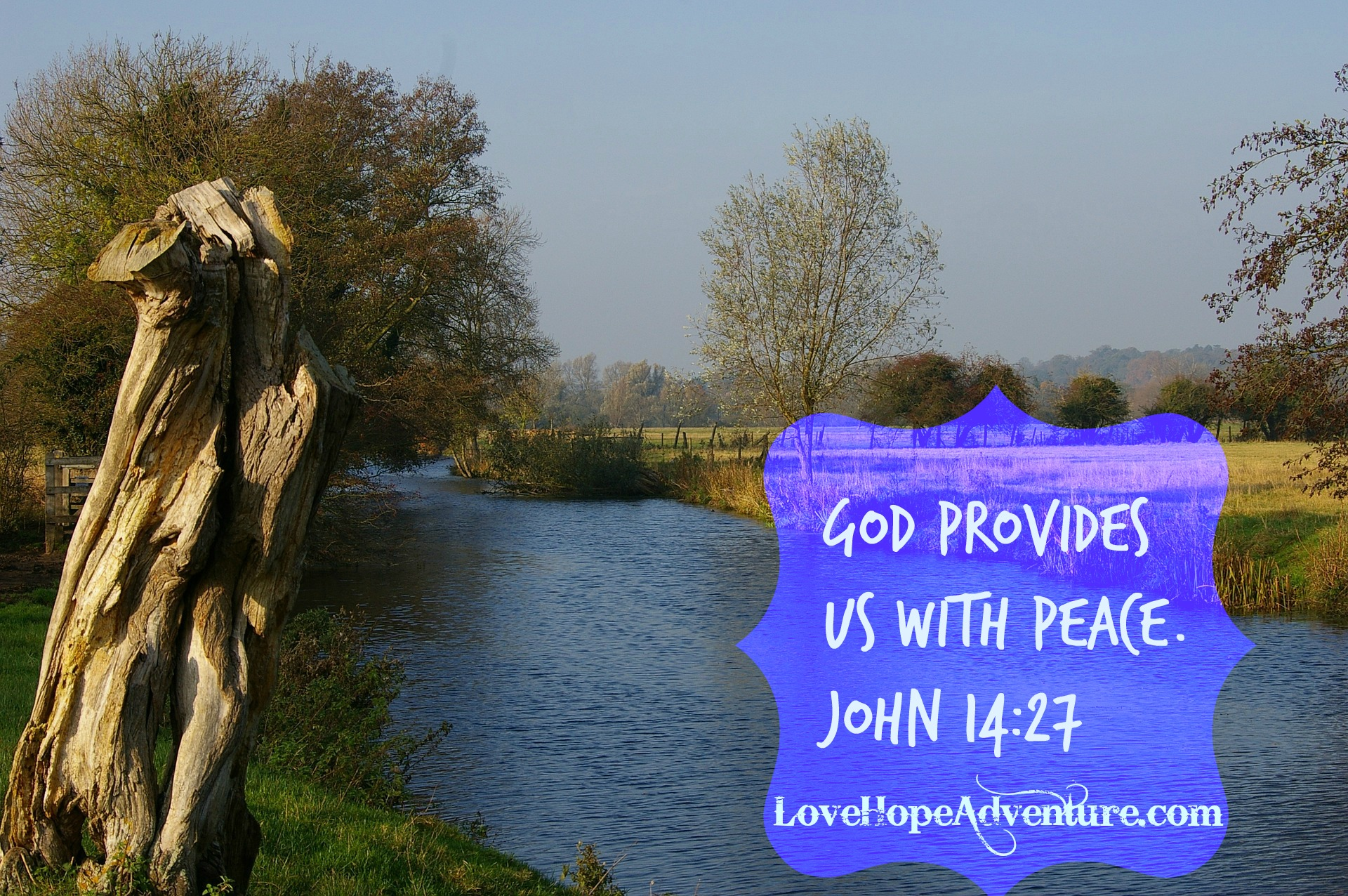 God Provides Us With Peace
