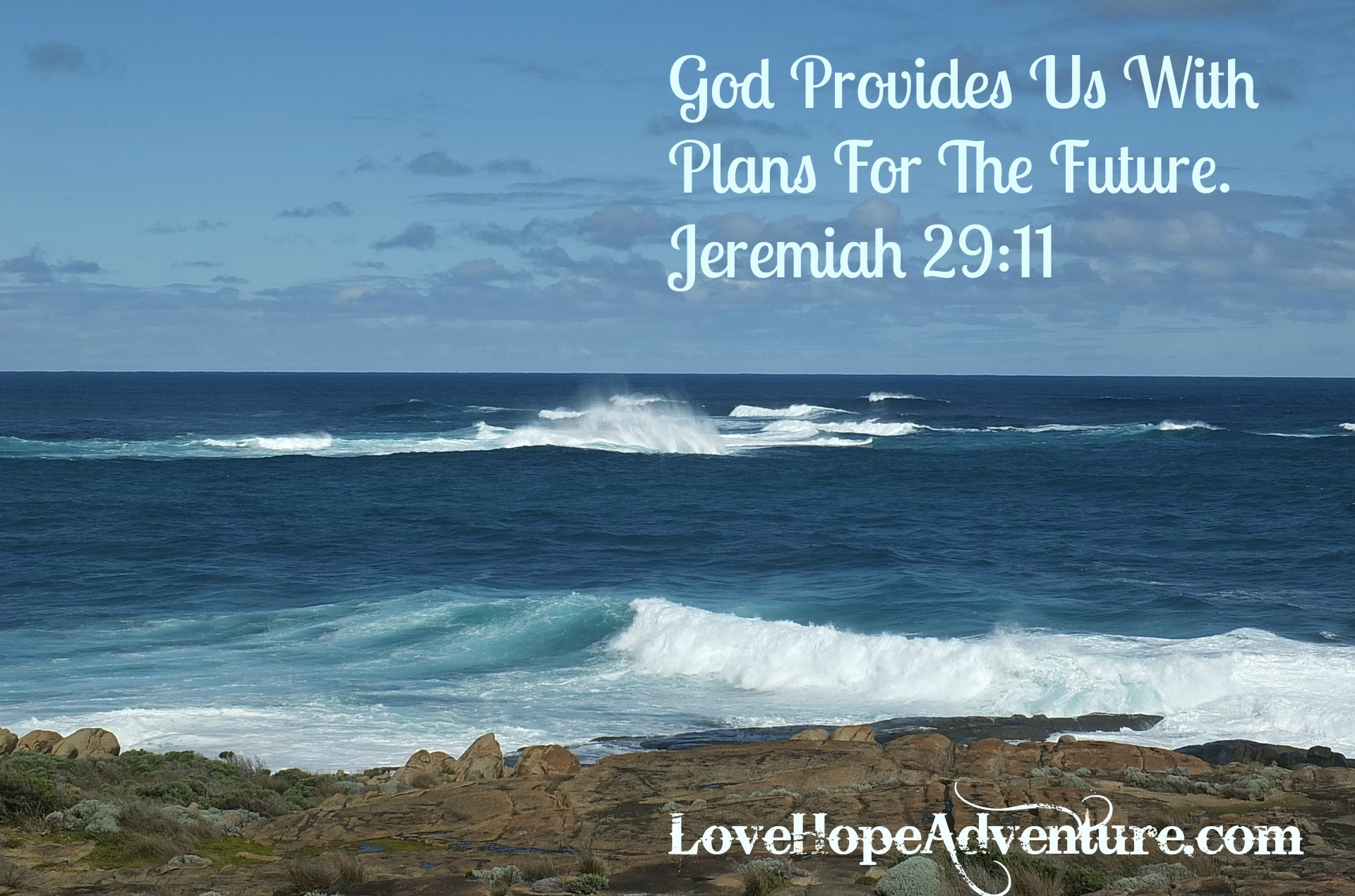 God Provides Us With Plans For The Future