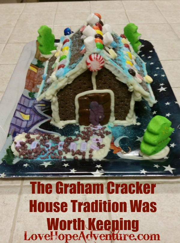 The Graham Cracker House Tradition Was Worth Keeping