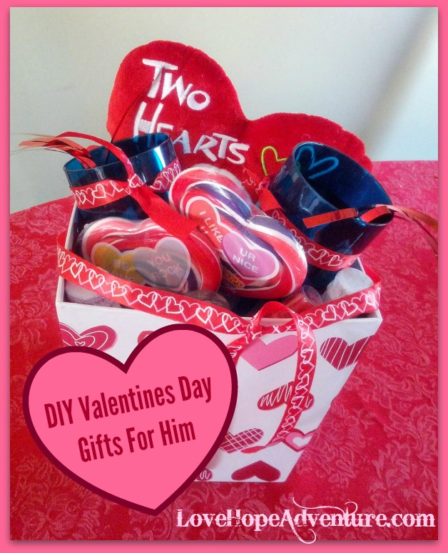 Diy Valentines Day Gifts For Him Love Hope Adventure