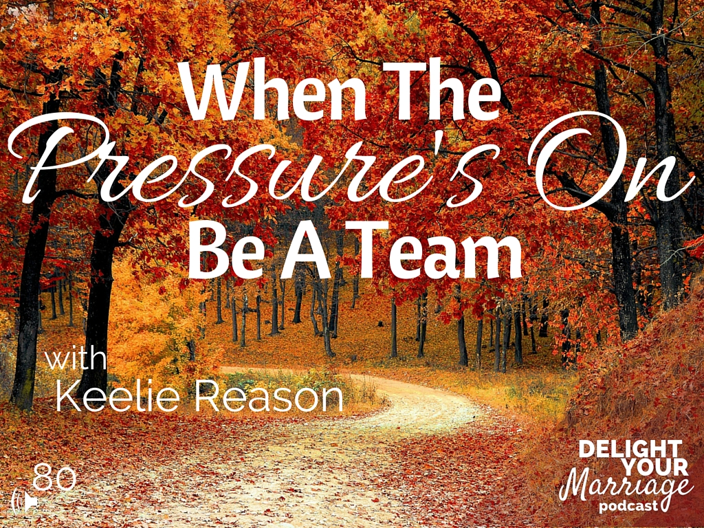 When Pressure's On, Be A Team (2)