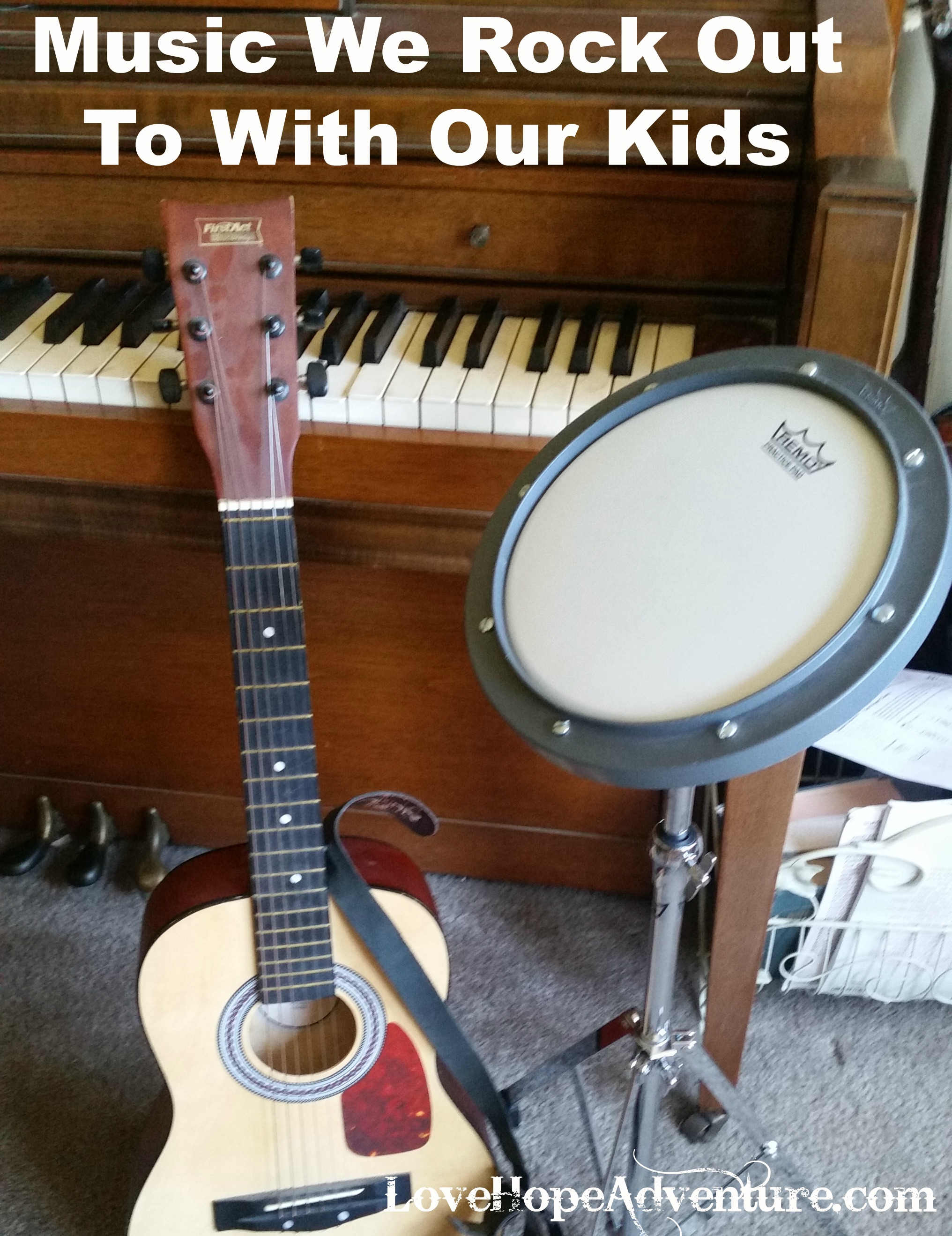 Music We Rock Out To With The Kids