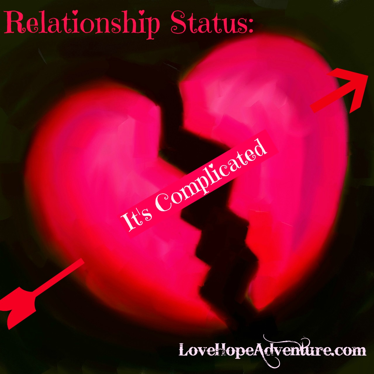 Relationship status its complicated