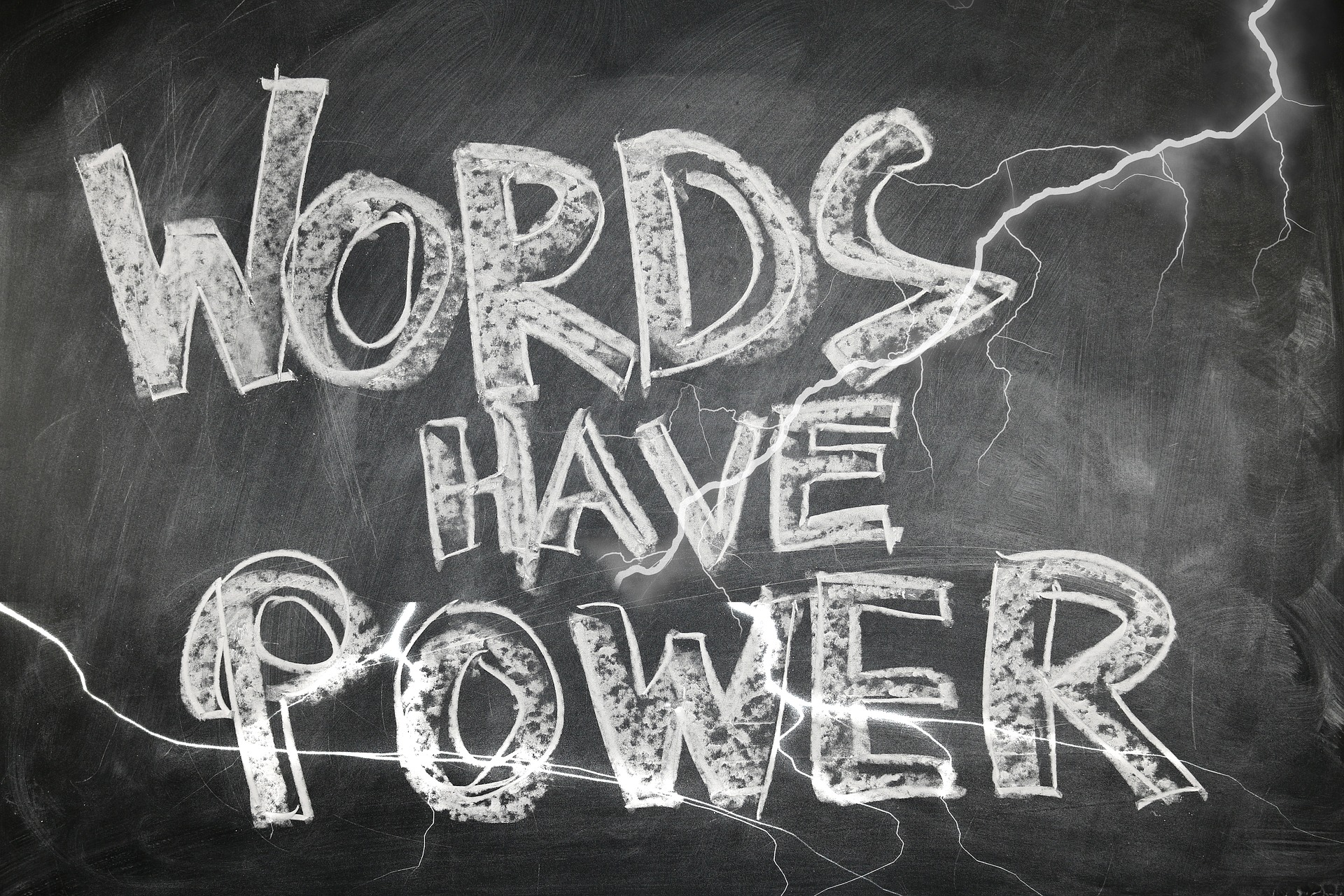 Changing your words will change your attitude