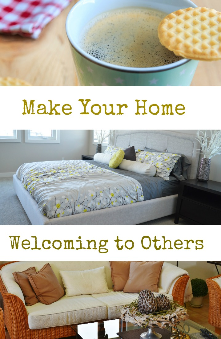 Make your home welcoming to others