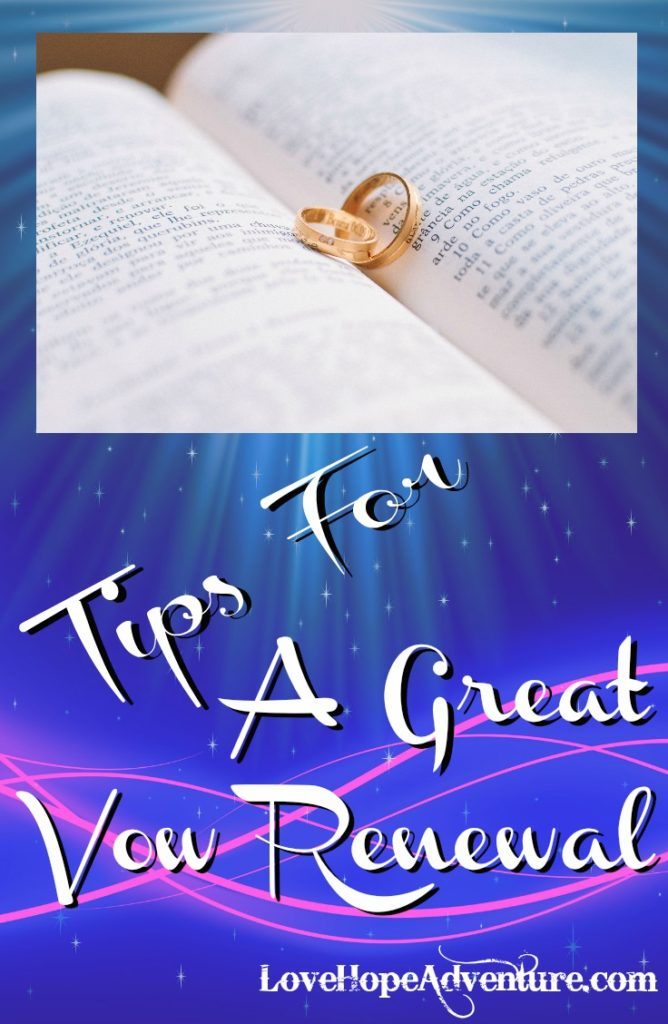Tips for a Great Vow Renewal - Pinterest