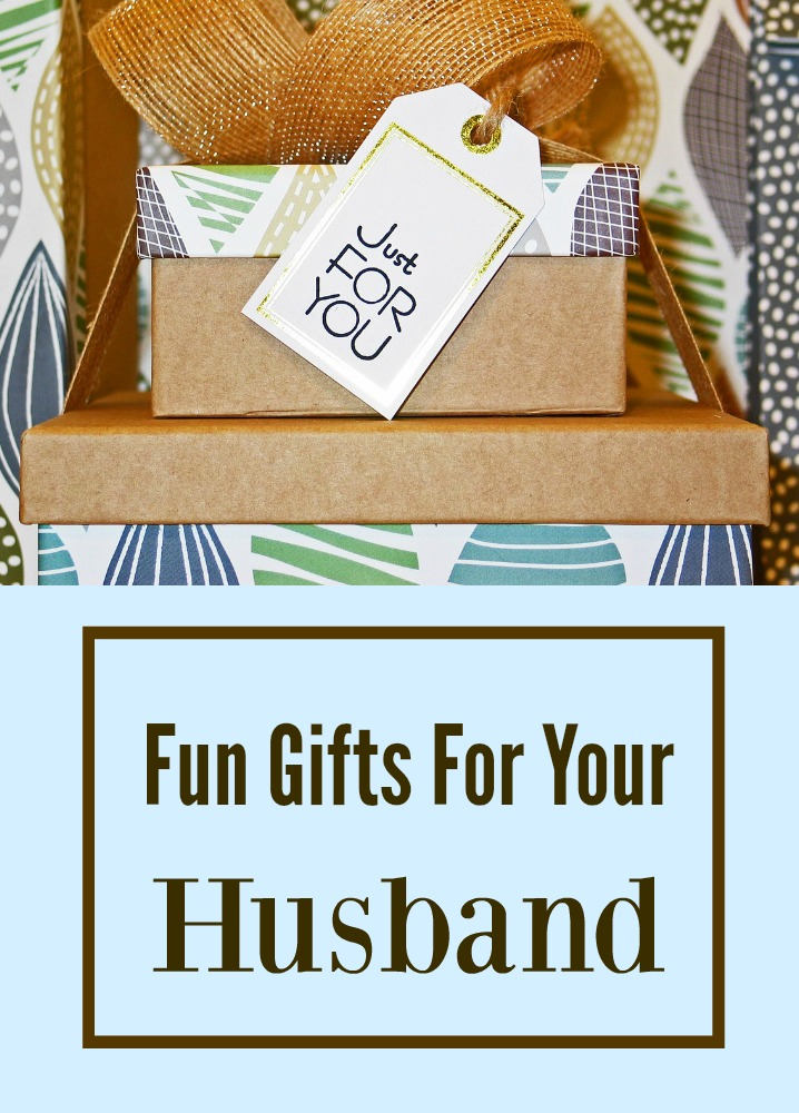 Fun gifts for your husband love hope adventure for Gift for your fiance