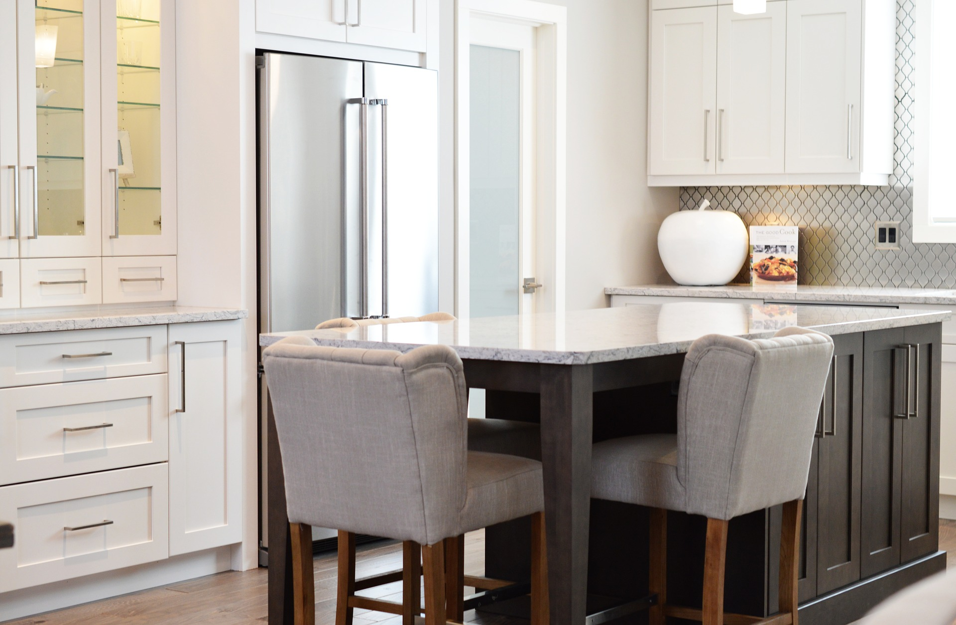 Finally, it's time to start treating your kitchen as a family hub instead of just the room where you prepare dinner. Make sure that it's comfortable - if you have kids and you like to be able to help them with their homework then invest in a big table where they can sit to study while you're cooking in the evening.