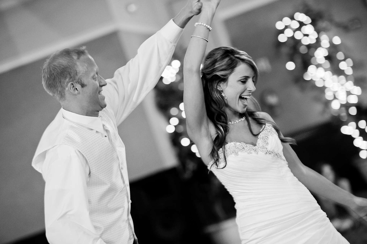 Your first dance is one of the best parts of the day, and probably one of the only times you get just to enjoy the other. Make sure you enjoy that dance as much as possible - don't let nerves get in the way. You don't need to choreograph a special dance, but practicing a little beforehand should help you both to keep nerves at bay.