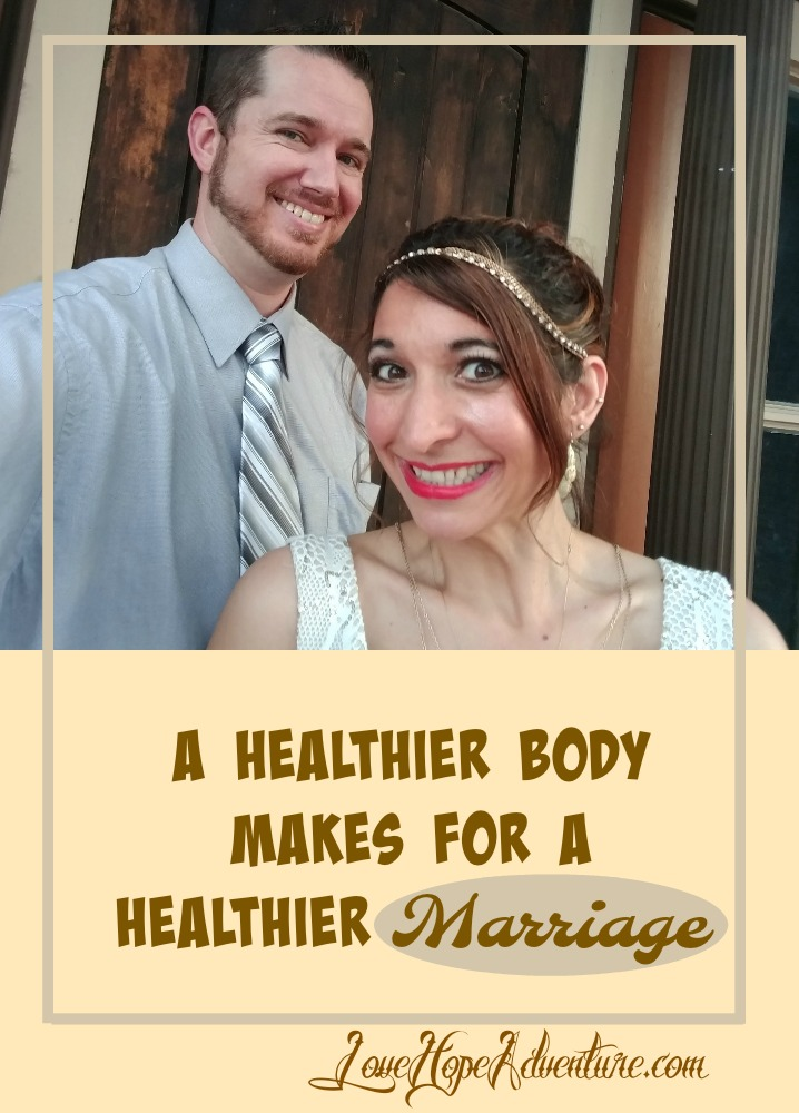 I've talked to many couples that have shared with me that their marriages have been impacted by poor health. Maybe they are struggling to be intimate with one another. It could be that hormones are out of whack, causing mood swing. They may be suffering from low self esteem, which causes them to feel unattractive.