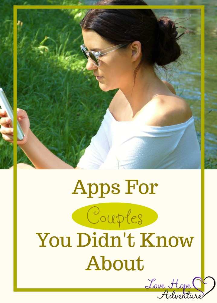 There is an app for just about anything you could ever want. Now, I'm not really much of an app user. But, I recently discovered some helpful apps for couples. I gave them a try, and I have really enjoyed using them. I think they are definitely worth checking out.
