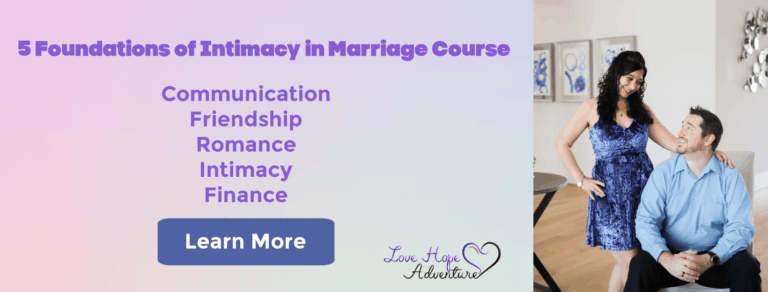 5 Foundations of intimacy in marriage course