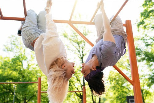 Go To A Playground Together