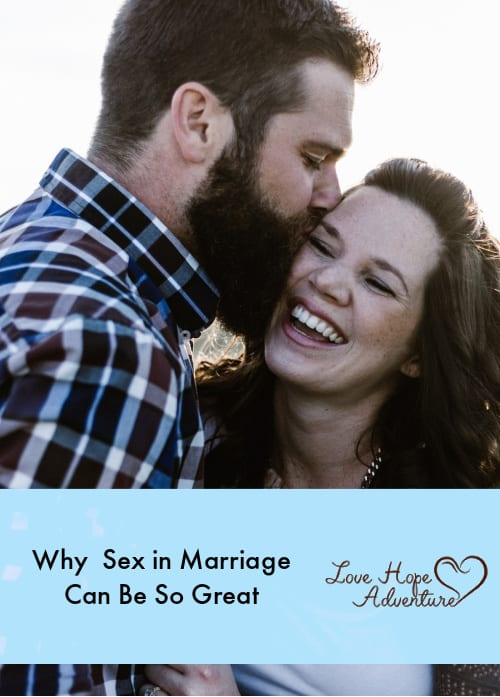 Why  Sex in Marriage Can Be So Great